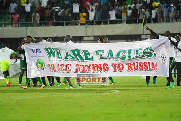 Super Eagles – the black man's burden, responsibility and hope!